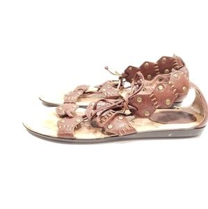 Frye lace up gladiator shoes sandals size 7.5